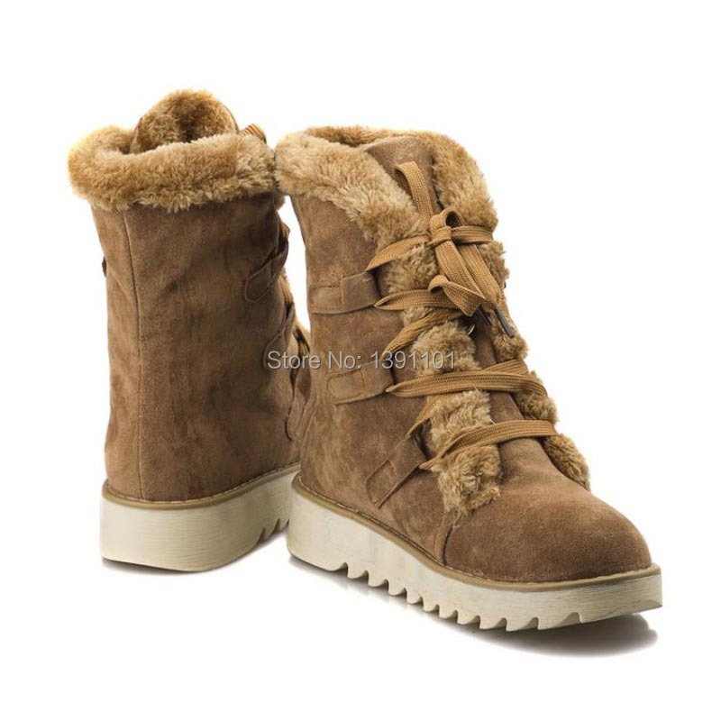 Suede Snow Boots Women's Shoes | Homewood Mountain Ski Resort