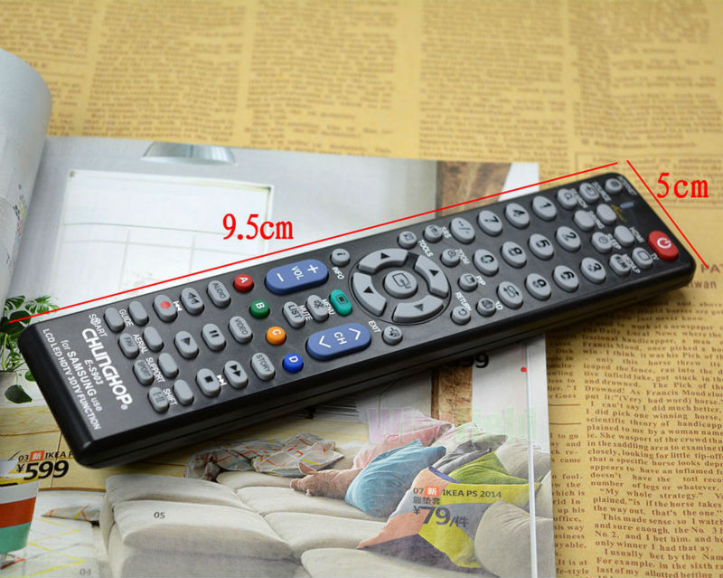 Free Shipping Remote Control HDTV LCD LED Brands Works On Universal For Samsung E-S903(China (Mainland))