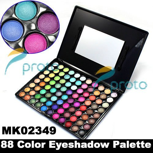 SG POST Freeshipping- Professional 88 Color Eyeshadow Makeup Eye shadow Palette Dropshipping [retail] SKU:M0004