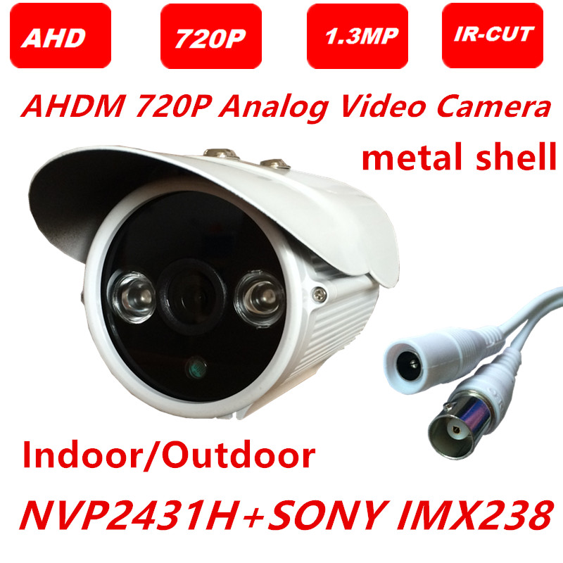 AHD Analog video Camera sony IMX238 sensor 3000TVL AHDM 1.3MP 960P 2 Array LED CCTV Camera Security ABS dome Intdoor camera(China (Mainland))