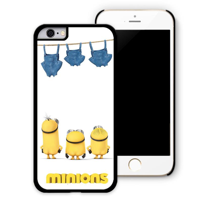 Women & Men Fashion Cute Minions Movie Cell Phone Cases ...
