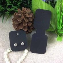 Buy 2016 New Hot Black Earring/Necklace Card Bracelet Display Card1LOT =100 PCS Custom Logo Cost Extra custom Logo MOQ: 1000 for $6.32 in AliExpress store