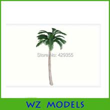 Hot sale Mini ABS plastic scale model palm tree