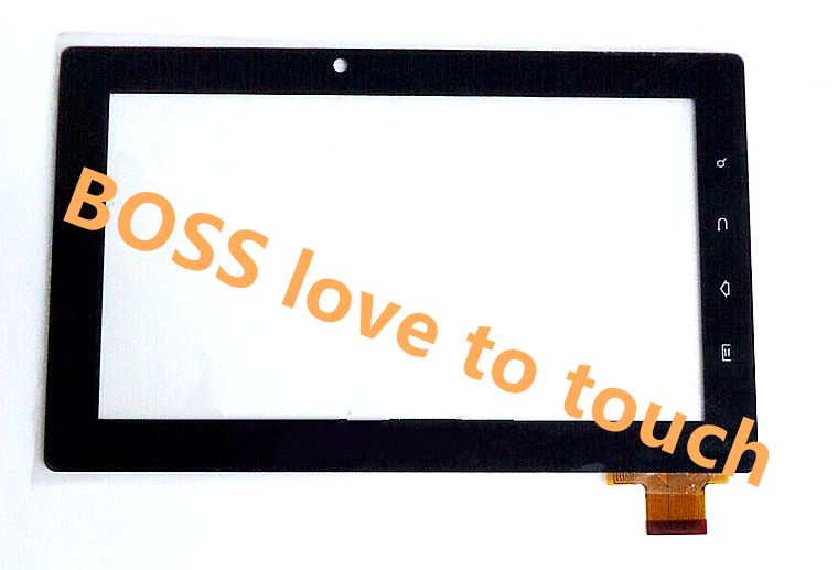 7 inch tjc0136a1 HXS Freelander PD10 PD20 Tablet PC Touch screen digitizer panel Repair glass(China (Mainland))