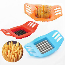 Stainless Steel Vegetable Potato Slicer Cutter Chopper Chips Making Tool Potato Cutting Fries Tool Kitchen Accessories E#CH(China (Mainland))
