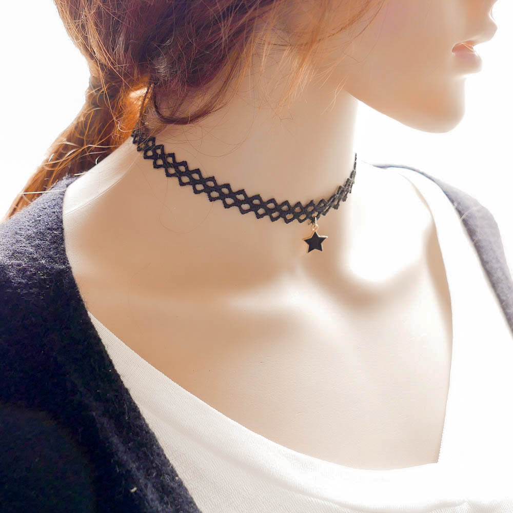 Online buy wholesale star neck tattoos from china star for Gothic neck tattoos