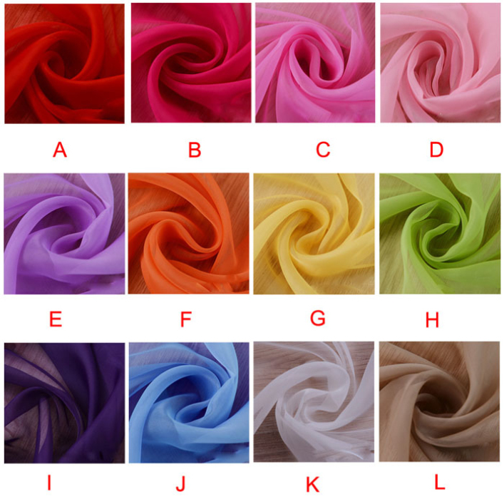 Modern 2015 Solid Color 200x100cm Ready Made Sheer Curtain Living Room Window Curtain May12(China (Mainland))