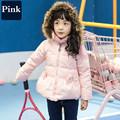 2016 Çocuk Için Işık Aşağı Kapüşonlu Kış Ceket Kış Ceket Parkas Giyim Ceket Çocuk Ceketler Çocuk Kış Coat Parka