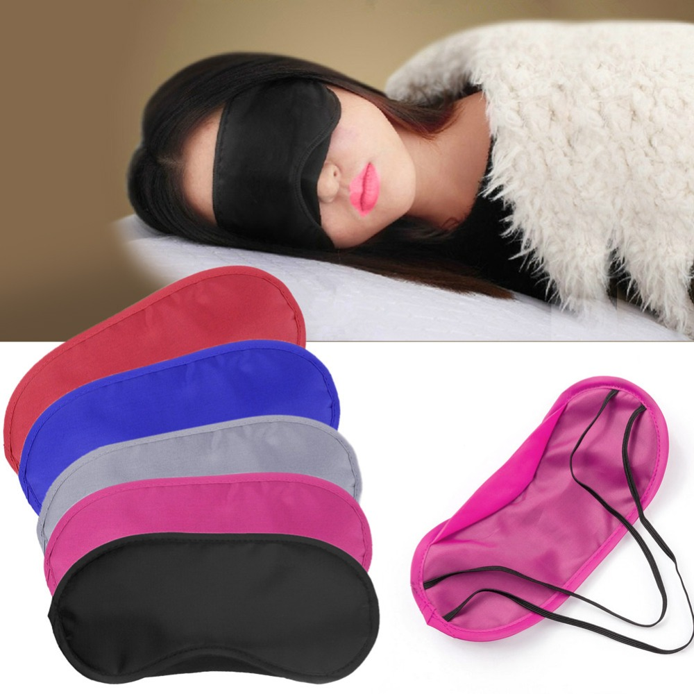 1pc Sleeping Mask Eye Rest Aid Blindfold Travel Sleep Shade Cover Comfort New