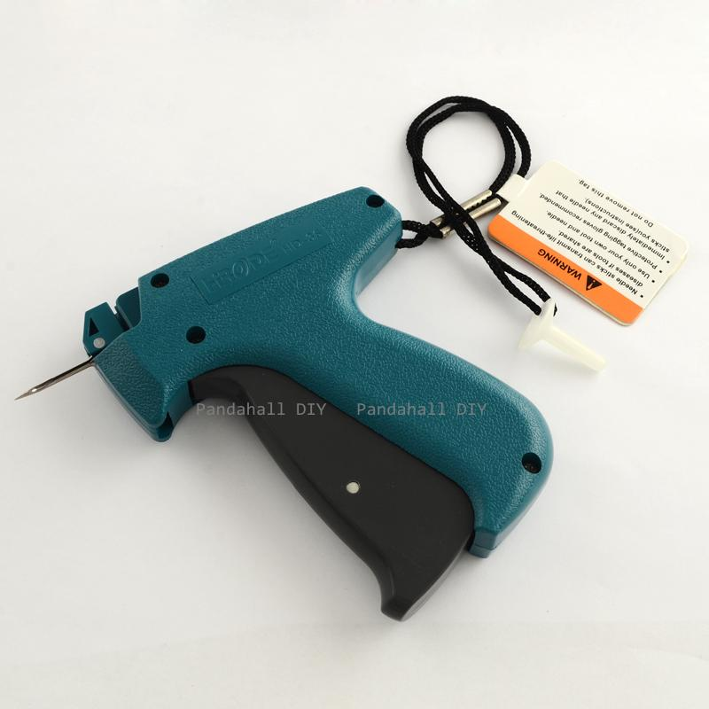 Garment Clothes Price Label Tagging Tag Gun With Steel Pins Teal 125x100x23mm; hole: 10x1.5mm; pin: 1mm(China (Mainland))