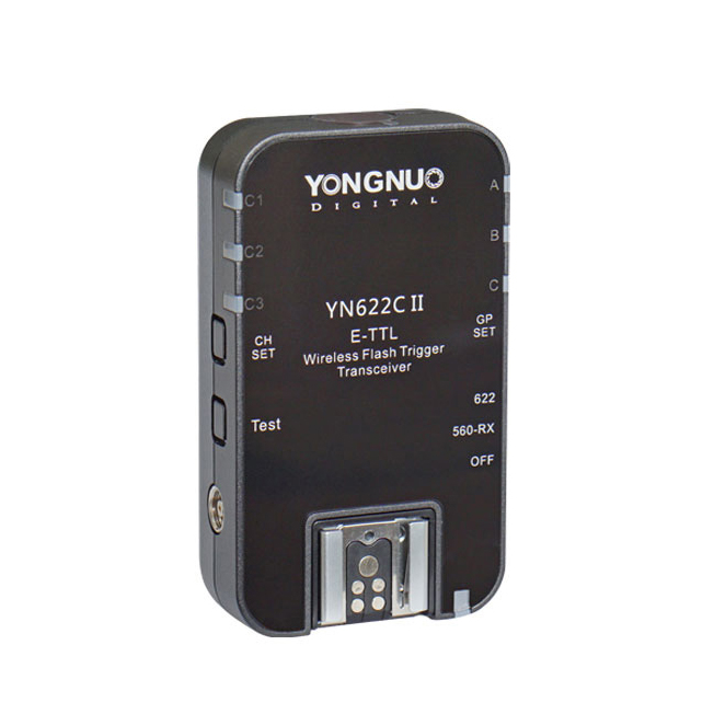 YONGNUO YN-622C II RX YN622C II RX HSS E-TTL Flash Trigger for Canon Camera Compatible With YN622C YN560-TX RF-603 II RF-605(China (Mainland))