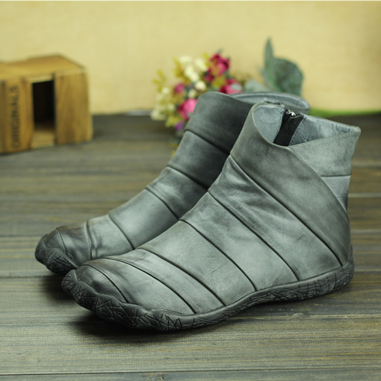 Free Shipping Peep Toe Top Quality Leather  Ankle Bootie Women Shoes Autumn Spring L147<br><br>Aliexpress