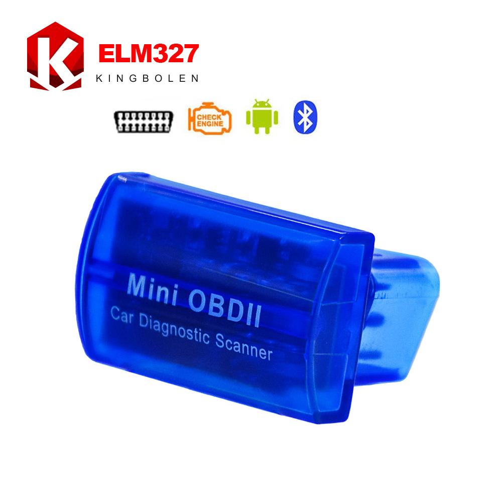 MINI OBD ii ELM327 Bluetooth Latest V2.1 OBD 2 / OBD2 Wireless Car Diagnostic Scanner Multi-Language Work ON Android(China (Mainland))