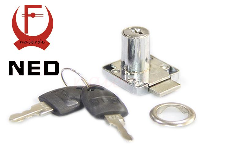 2pcs/lot 136-22 Zin Furniture Drawer Locks 16mm Lock Core 22mm Length Desk Lock Family Home Universal Size Lock For Cabinet Etc<br><br>Aliexpress