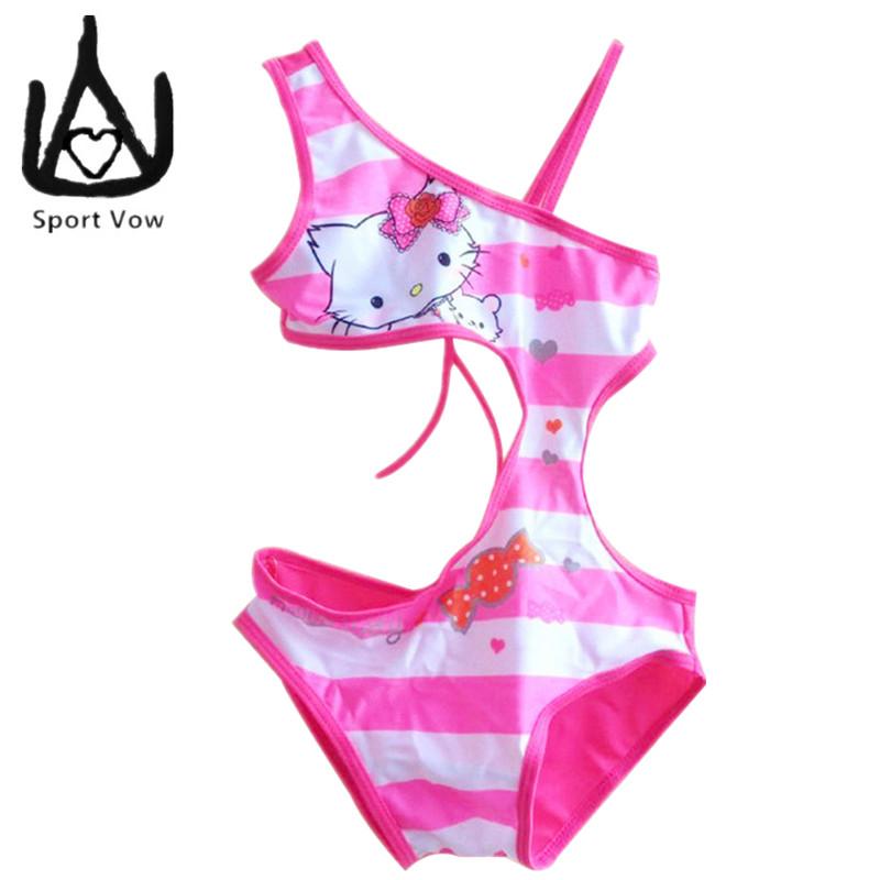 Cute Girls Swimwear Kids Beach Wear Girls Swimsuits Baby Girl Bathing Suit One Piece Monokini Bodysuit Hot Spring Wear 2016(China (Mainland))