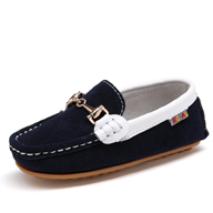 Genuine Leather Shoes Child Brand Slip On Fashion Quality Boys Kids Formal Moccasins Loafers Toddlers Flat Spring Baby Single(China (Mainland))
