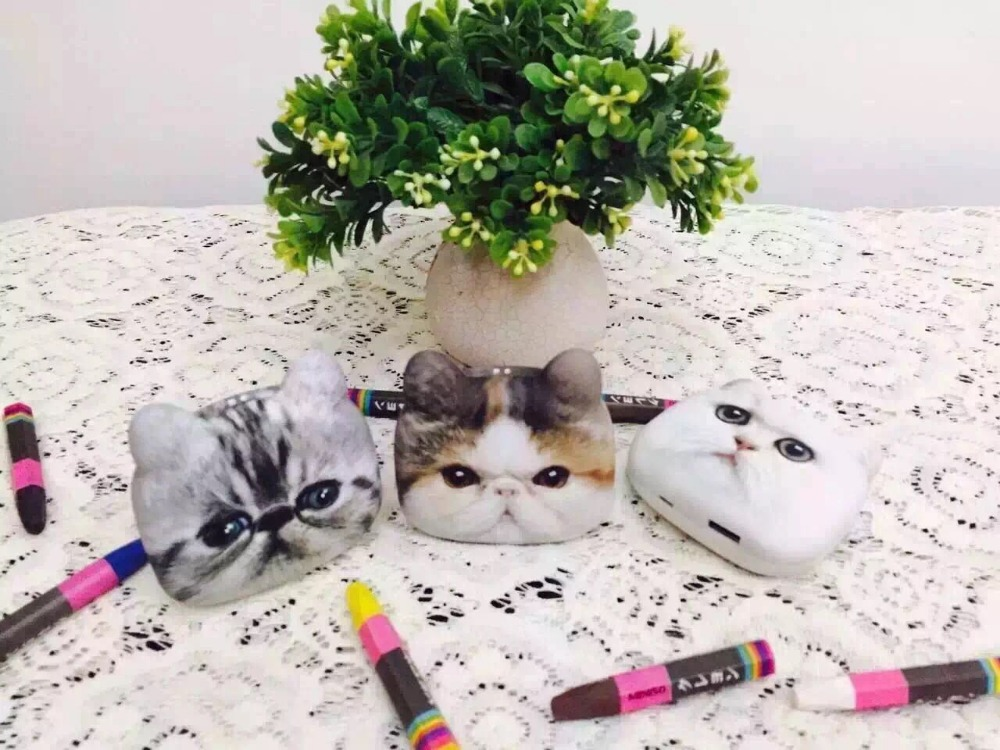 Cute Cat Style 8800mAh Power Bank Portable External Battery USB Charger For Mobile Phone Drop Shipping