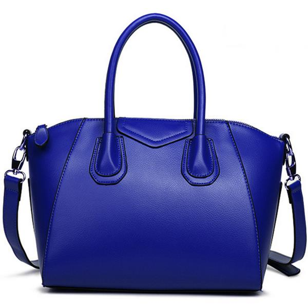 New women big bags genuine leather smile face handbag European and American big shoulder bags for woman bags luxury brand V20G69(China (Mainland))