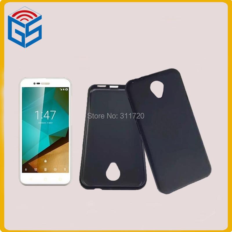 Wholesale Market Soft TPU Pudding Cover Matte Case For Vodafone Smart Style 7 Free Ship(China (Mainland))