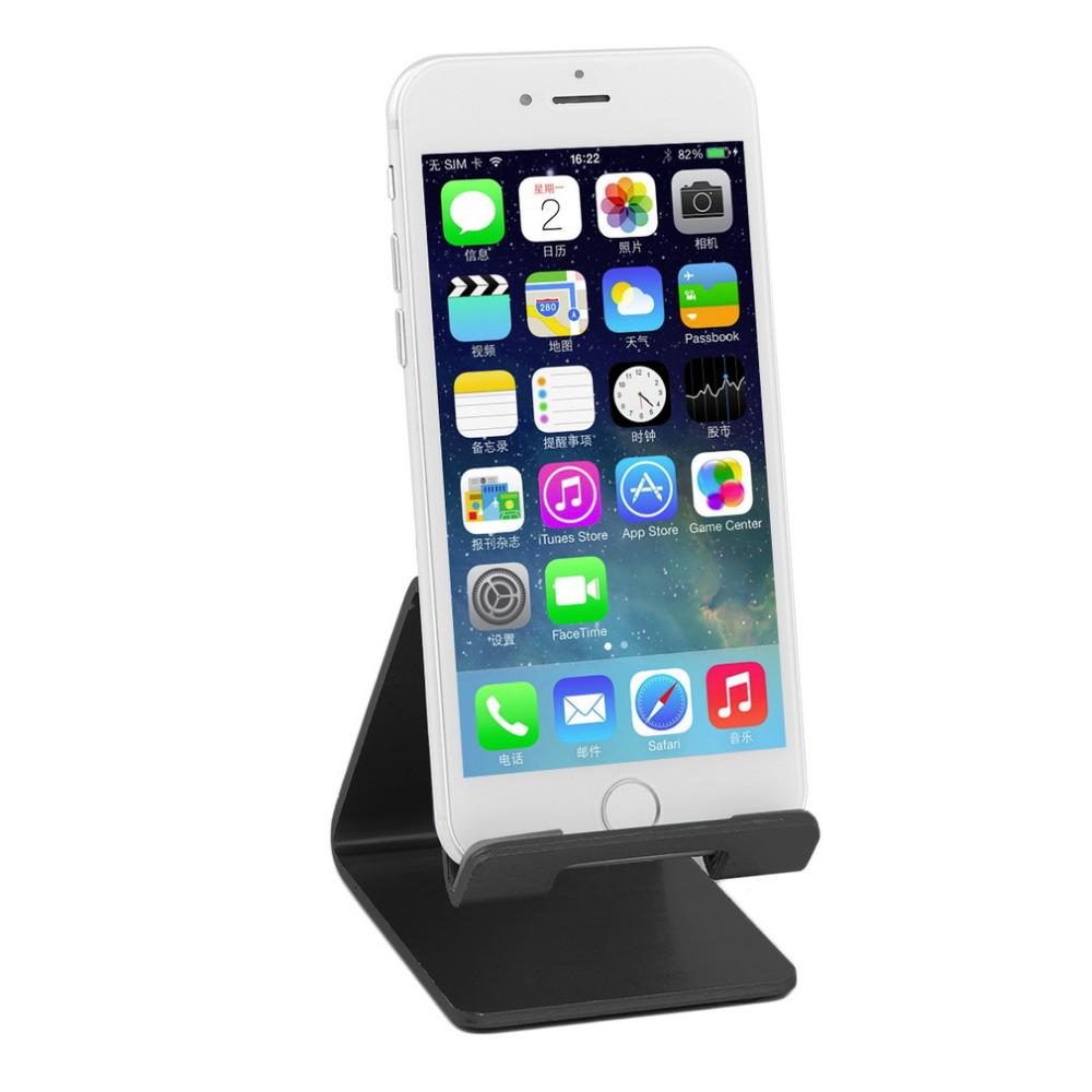 Универсальный Сотовый Телефон Стол Алюминиевый Стенд Держатель Для Мобильного Телефона Tablet PC