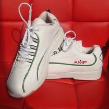 Bel professionnelle fournitures de bowling AMF chaussures de bowling classique hommes et femmes, La première couche de cuir souple super confortable(China (Mainland))