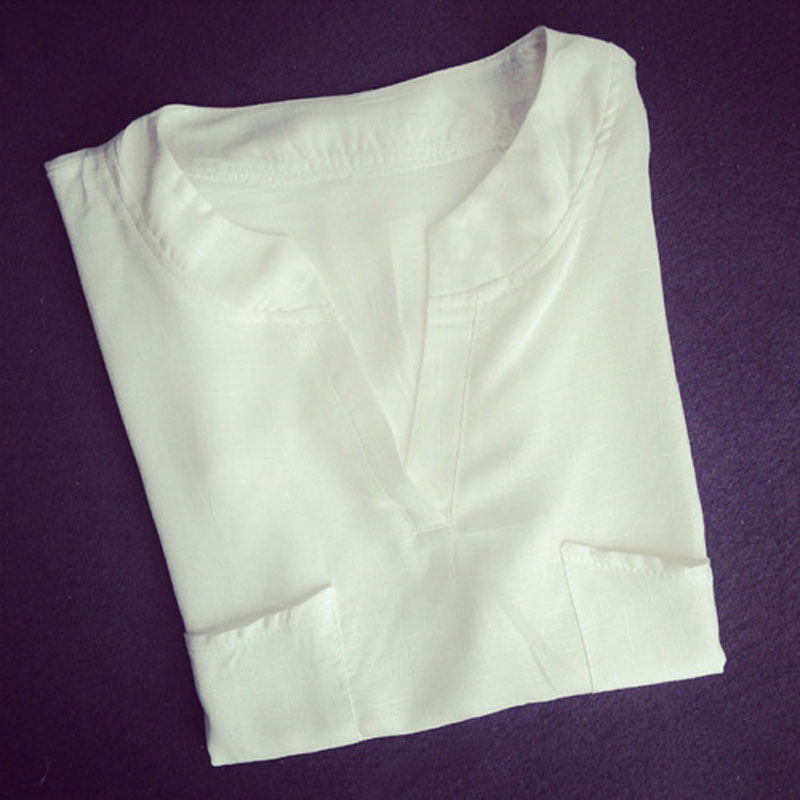 ladies white linen blouses long blouse with pants