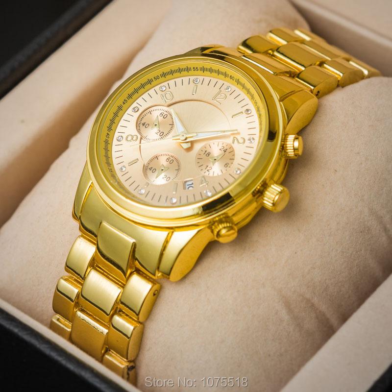 Золотой бренд часы женщин роскошь, известный
