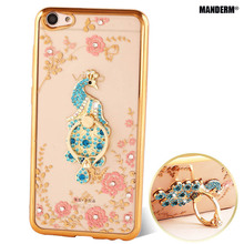Buy x7plus Luxury Rhinestone Phone Case Cover Finger Rotated Ring Holder Stand BBK Vivo X7 plus Ultra-thin Silicone Case Shell for $3.79 in AliExpress store