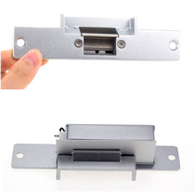 Buy 12V DC Fail Safe NC Narrow-type Door Electric Strike Lock Access Control Power Locks Embedded Installation for $17.50 in AliExpress store