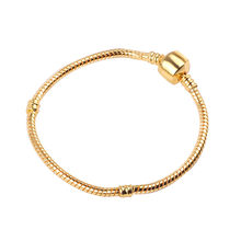 Ranqin High Quality Vintage Fine Bracelet European Style Snake Chain Fit DIY Charm Bracelets Jewelry(China)