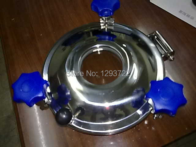 SS 304 450mm H:100mm,Stainless steel manhole cover with sight glass YAA ,Pressure with endoscopic manhole stainless steel(China (Mainland))