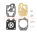 Carburetor Diaphram Gasket Kit For Brushcutter CG260 CG330 CG430 CG520 GX35 1E139 40 5 26CC 43CC