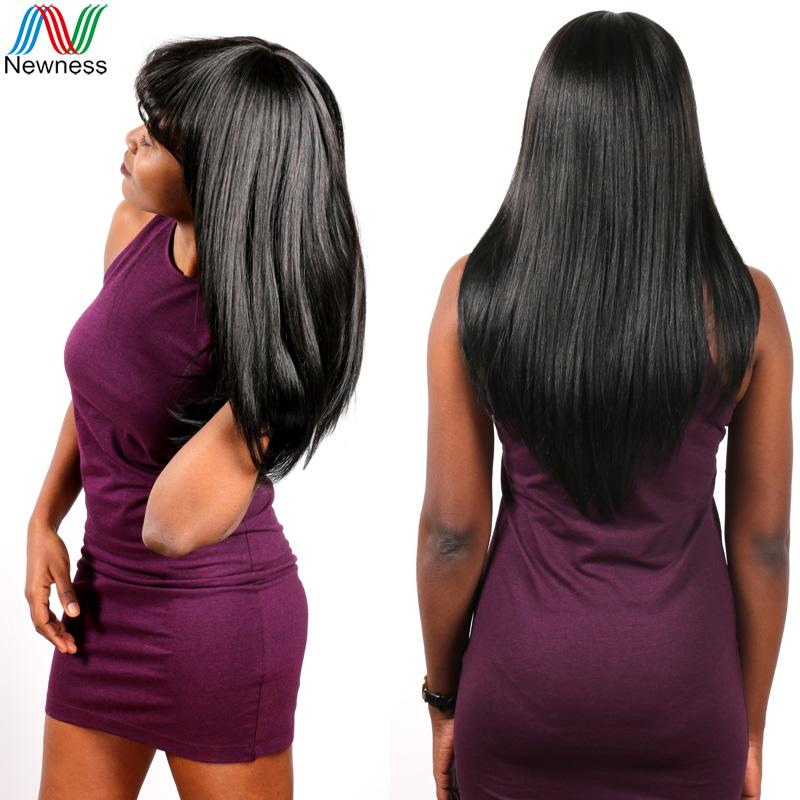 Newness Factory Supplier 6A Indian Virgin Hair Straight Soft Natural Black Unprocessed Virgin Indian Hair Cheap Human Hair Weave(China (Mainland))
