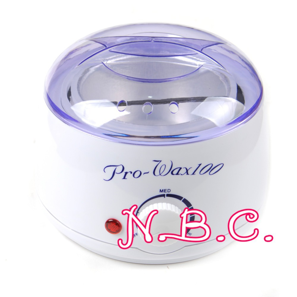 New Nail Salon Acrylic UV Gel lamp Spa Wax Heater Manicure Paraffin Warmer Waxing 400ml Kit(China (Mainland))