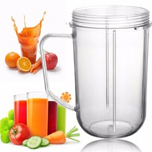Plastic Transparent Replacement Cups /Mugs Brand Blender Juicer New Replacement For Nutribullet New(China (Mainland))