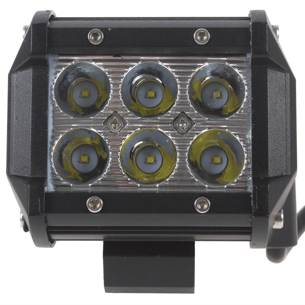 4 Inch 18W Cree LED Work Lamp Light Bar Offroad 12V IP67 FLOOD FOR 4x4 OFF ROAD ATV TRUCK BOAT UTV WORKLIGHT(China (Mainland))