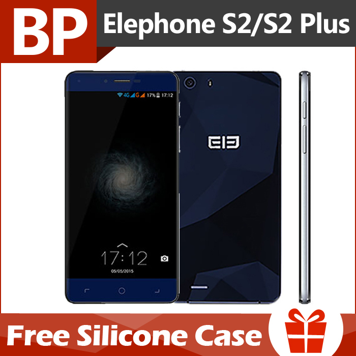 "Original Elephone S2 Plus 4G LTE Mobile Phone MTK6735 64bit Quad Core 5.5"" HD Screen 2GB RAM 16GB ROM Android 5.0 Lollipop 13MP(China (Mainland))"