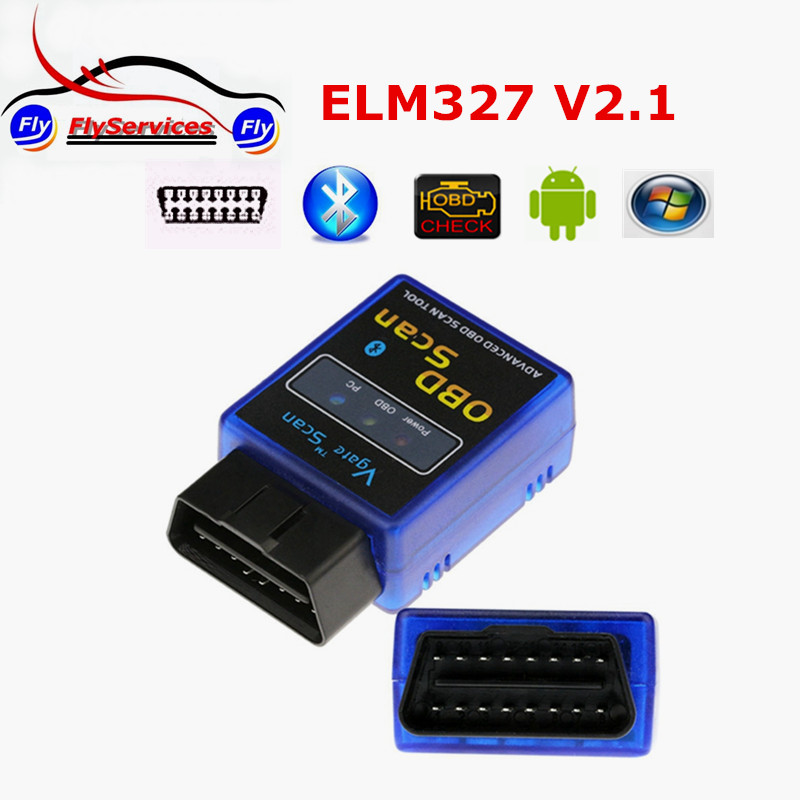 2016 New Arrival Vgate ELM327 Bluetooth OBD2/OBDII Auto Automotive Scan Tool ELM 327 V2.1 On Android Torque Fast shipping(China (Mainland))