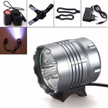 Buy Securitying Waterproof 8000Lm XM-L U2 LED Front Bicycle Light Bike Headlamp Head Lamp Headlight+ 2 Laser 5 LED Rear Light for $27.17 in AliExpress store