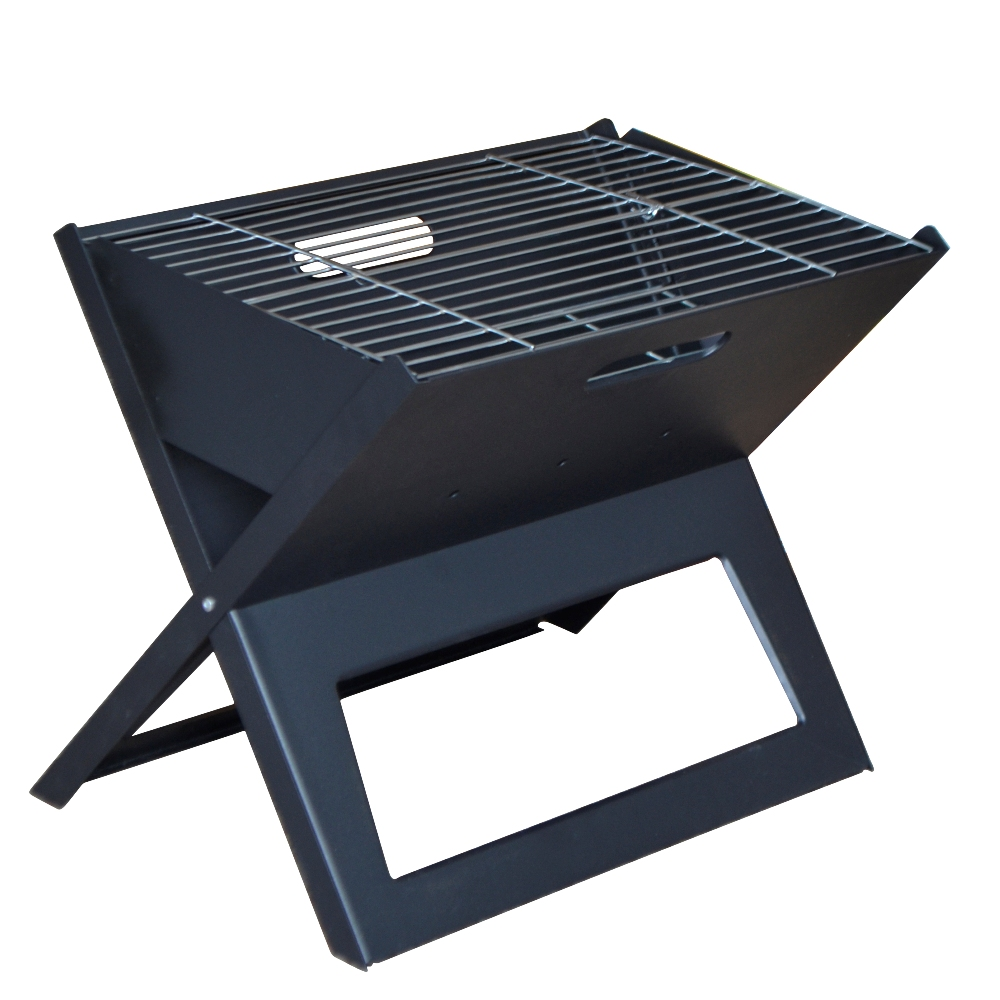 Portable Folding Charcoal BBQ Household Couple Family Party Outdoor Living Suitcase Style Shape Barbecue Cooking Grill(China (Mainland))