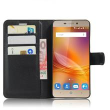 IVCE Luxury Brand with card holder PU skin leather For ZTE blade A452 cover case Flip Leather Mobile Phone Bag Case Accessories