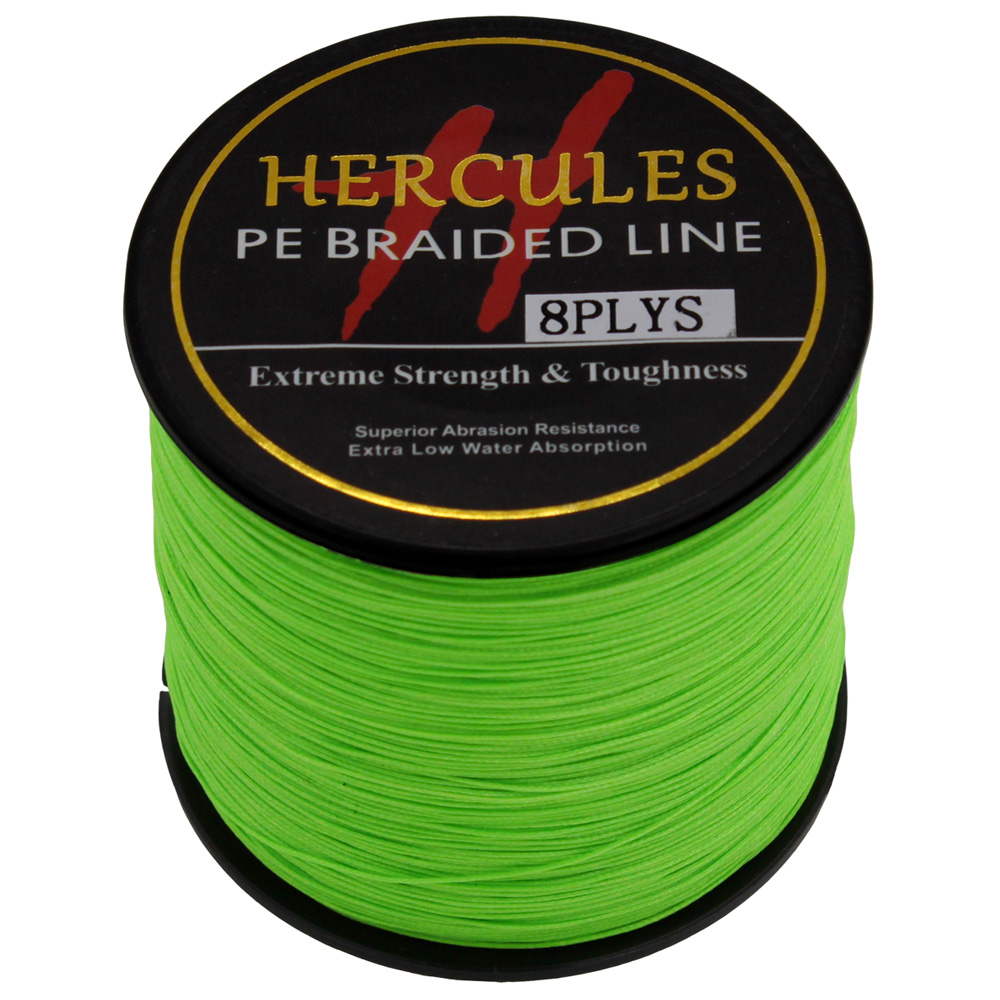 Buy 8 strands 500m hercules100 pe for Best braided fishing line saltwater
