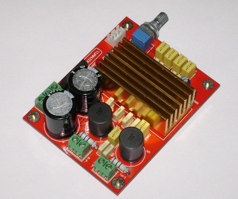 TDA8920 amplifier board/Class-D digital audio amplifiers board/2.0 channel amplifier board(2*100w)(China (Mainland))