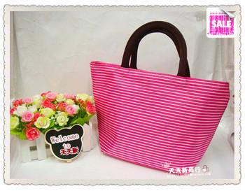 Canvas bag small handbag gentlewomen handbag lunch bags handbags cloth tote bag  MOQ>=10USD