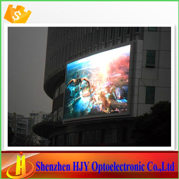 New invention p10 full color led outdoor tv billboard(China (Mainland))