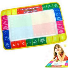 by DHL or EMS 500 pieces Doodle Child Painting Writing Board learning & education drawing mat with magic pen(China (Mainland))