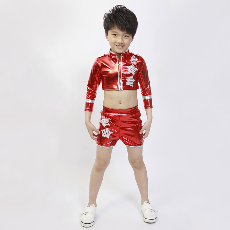 Stage Performance Dance Costumes Boys font b Girls b font Jazz Dancing font b Clothing b