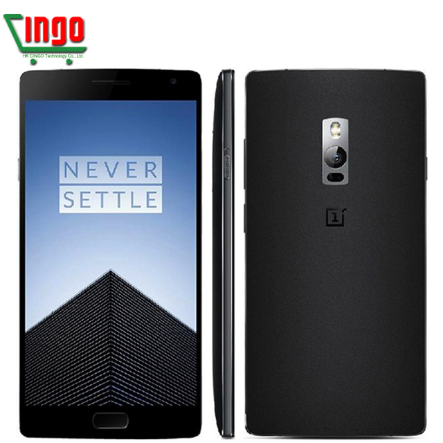 Original OnePlus 2 Two Mobile Phone Octa Core Snapdragon 810 4G FDD LTE 4G RAM 64G ROM O2 OS 5.5'' Fingerprint ID 1920*1080 px