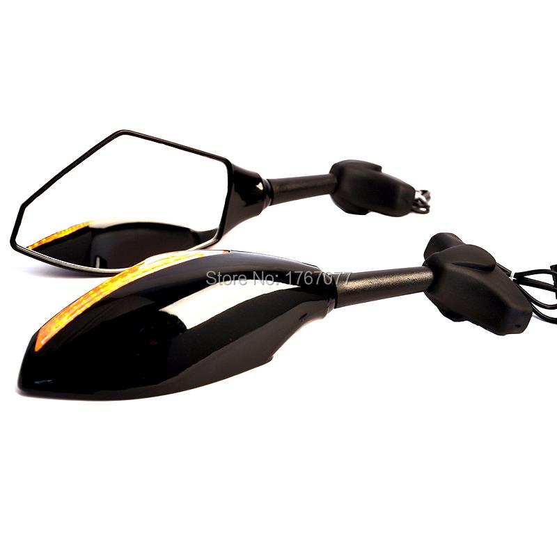 Мотоцикл боковое зеркало из светодиодов сигналы поворота для Honda VFR 800 перехватчик ABS CBR600 F1 / F2 / F3 / F4 / F4I