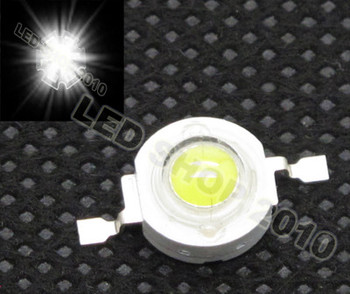 20pcs 1W White LED Without board Star HIGH POWER 100LM light DIY